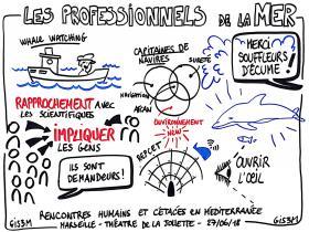 Le rôle des professionnels de la mer