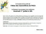 Conference_Atlas_Mammifere_PACA